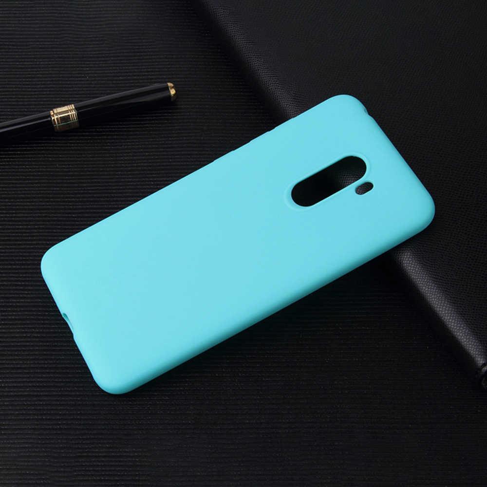 Чехол для Xiaomi играть MAX3 MIX3Pro Mi8 Lite SE 5XA1 6XA2 Lite PocoF1 Карамельный Цвет Мягкие силиконовые матовая для Redmi Note4x 6 Pro 6 5A