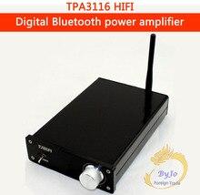YJ HiFi 100 Вт аудио усилитель мощности мини TPA3116 Bluetooth 4.0 Цифровой Усилители домашние мотоциклетные Плеер Дополнительно + 24 В Адаптеры питания