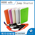 Smart Phone-sized Portable Multi-functional Car Power Jump Starter