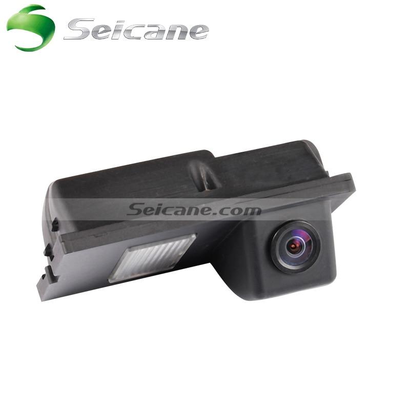 Seicane hd有線車のバックアップ逆転カメラ用2008 2011フリーランダー2 2008 2011ディスカバリー防水ブルー定規ナイトビジョン  グループ上の 自動車 &バイク からの 車両カメラ の中 1