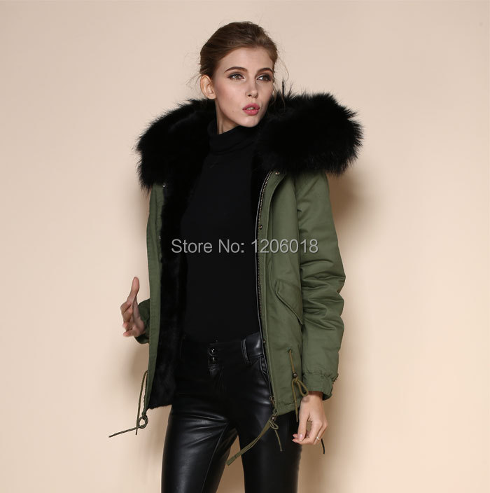 Mrs fur in women's black fur&faux fur coats,2017 new fashion big ...