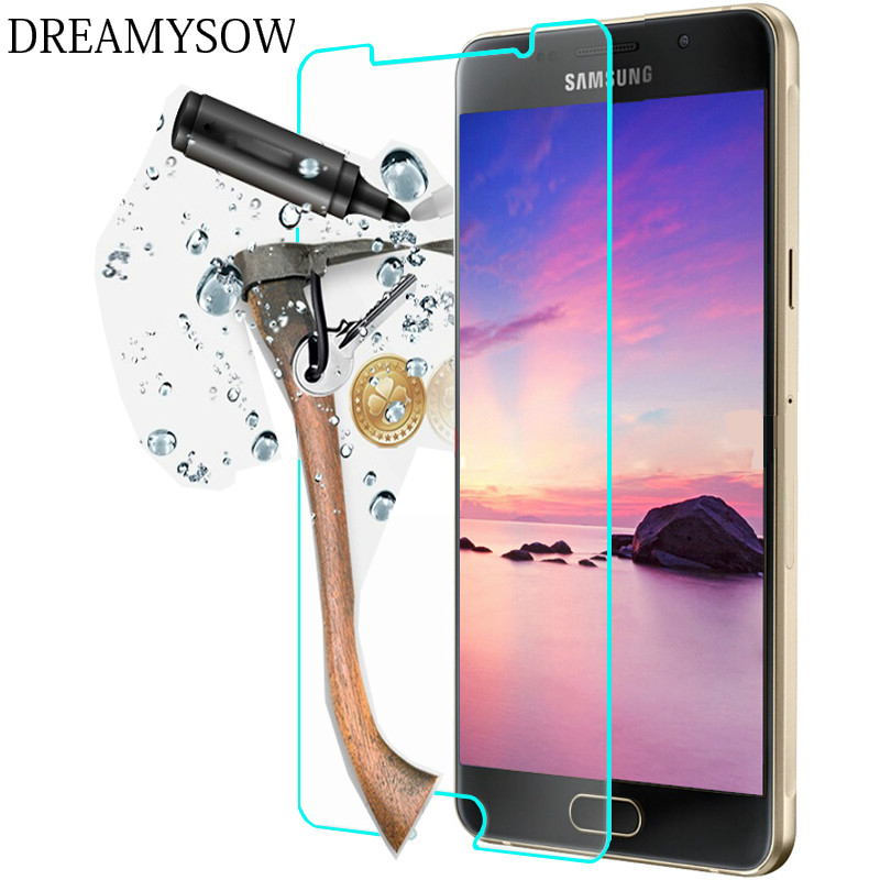 DREAMYSOW Phone Screen Tempered Glass For Samsung Galaxy A3 A5 A7 A9 A3100 2016 J1 J3 J5 J7 Protector Protective Film
