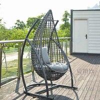 Висит подушка для кресла качели колыбель Птичье гнездовая корзина коврик плетеное кресло для взрослых кресло качалка подушки Крытый балко