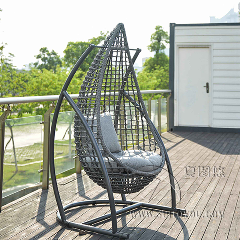 Hanging Chair Cushion Swing Basket Cradle Bird's Nest Basket Mat Wicker Chair Adult Rocking Chair Cushion Indoor Balcony Pad