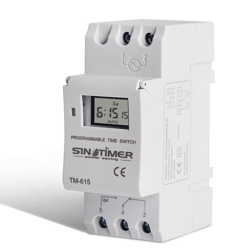 SINOTIMER Marca Electrónica Semanal 7 días Programable digital - Instrumentos de medición - foto 3