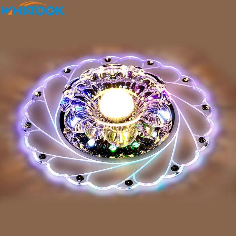 Led Kristall Gang Lichter Korridor Lichter Eingang Lichter Wohnzimmer Decke  Licht Dekoration Lampen Moderne Acryl Lampe 4 Watt/ 6 Watt