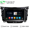 5.1.1 HD1024x600 ROM 16 GB Quad Core Android Multimídia Estéreo Rádio Do Carro DVD Player Para Hyundai i30 2011 2012 2013 2014