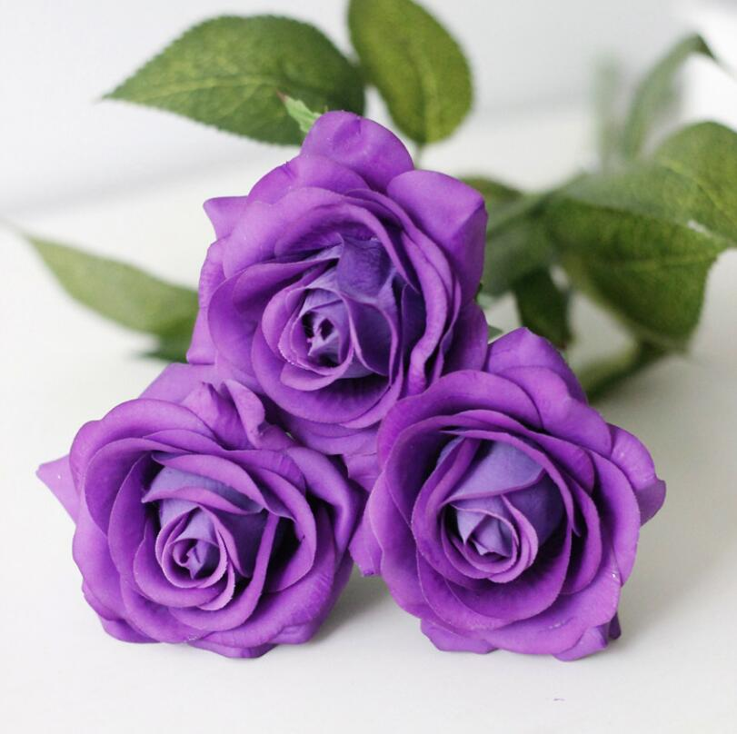 online get cheap real purple roses