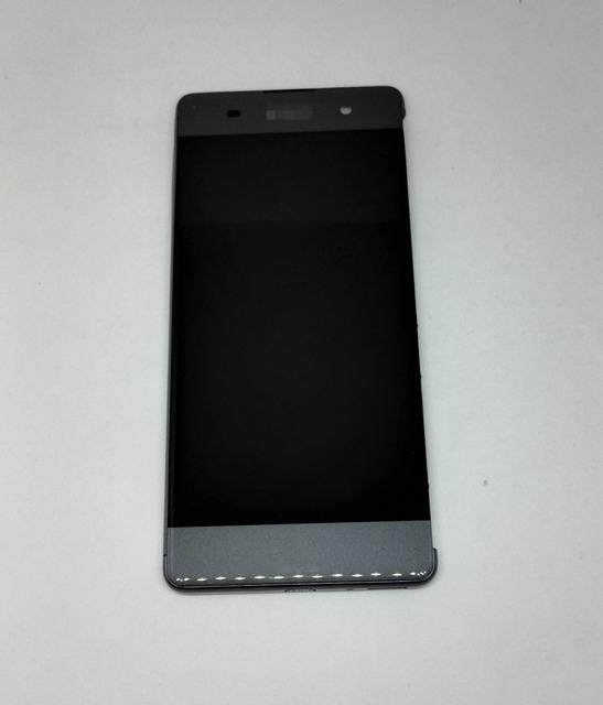 "5.0 ""para sony xperia xa lcd pantalla + touch de cristal digitalizador reparación de la pantalla de reemplazo de la asamblea frame de piezas"