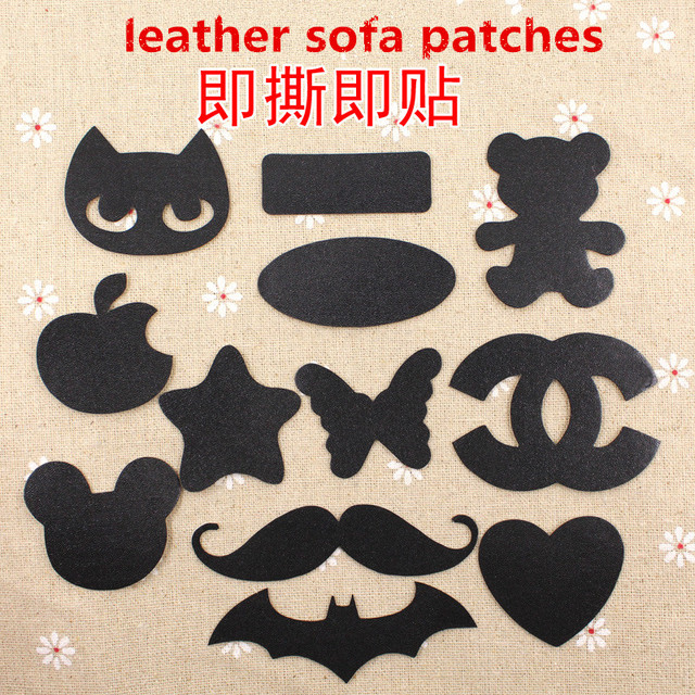 15pcs Leather Sofa Patches Sofa Repair Leather Self Adhesive Pu For Car  Seat Chair Bed