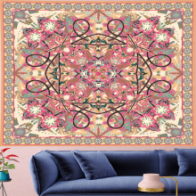 Boho decor macrame Tapestry Vintage Style Pattern Tapestries Retro psychedelic Wall Hanging home