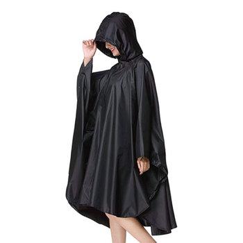 Czarny trencz fashion Style z kapturem kobiety mężczyźni unisex płaszcz przeciwdeszczowy Outdoor Poncho przeciwdeszczowe wodoodporny płaszcz przeciwdeszczowy 3 kolory odzież przeciwdeszczowa tanie i dobre opinie YUDING WXQ17-R008 Single-osoby przeciwdeszczowa Płaszcze Poliester Dorosłych Turystyka WOMEN Uniwersalny