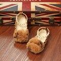 Zapatos de los bebés nueva primavera Leopard bebé de la princesa zapatos otoño moda primeros caminante zapatos de niño sólidos niñas perla zapatos