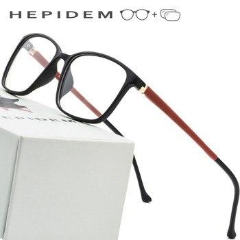 bde4f2f280 Check price TR90 Glasses Frame Men Ultralight Square Prescription 2018  Eyeglasses Women Light Frameless Myopia Full