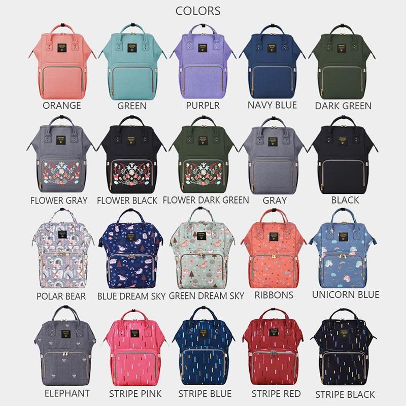 Sunveno marca impermeable bolsa de gran maternidad enfermería bolsa de viaje mochila para bebé mamá cochecito de bebé - 6