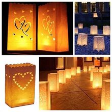 Festival Lantern Candle-Bag Pary-Supplies Paper Wedding-Decorations Outdoor-Lighting