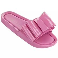 Melissa Beach Shoes 2019 New Women Flip Flop sandals Brand Women's Jelly Shoes Melissa slippers Female Jelly Shoes woman beach sandals cut outs summer jelly shoes casual flip flop jelly print floral garden shoes slippers print floral slippers