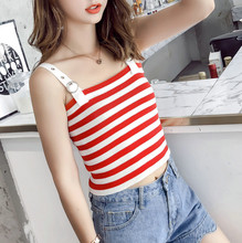 2018 New Women Spring Summer  Funny  Womens Regular Camis Fashion Brand Casual Night Club party Elegant Office Lady Tops 064