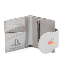 Sony Gaming Machine 4 Sony game console shape short wallet man credit card bag men and women thin wallet coin clutch zipper bag