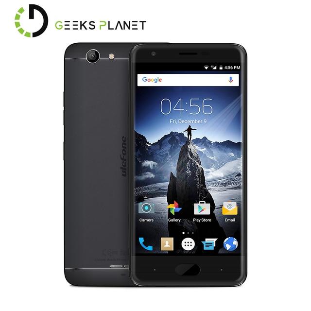 Original Ulefone U008 PRO Mobile Phone MTK6737 1.3GHz Quad Core 5.0 Inch HD Screen 2GB RAM 16GB ROM Android 6.0 4G Smartphone