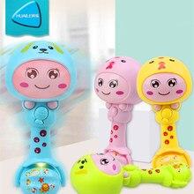 HUAILE дитячі іграшки ручні дзвіночки музика головоломки та світло тріскаюча брязкальця звук і легкий ритм AliExpress стандартна доставка