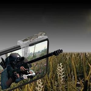 Image 3 - 2 piezas PUBG móvil Gamepad Joystick móvil disparador de botón de fuego disparador L1R1 Joystick para iPhone Xiaomi teléfono Gaming