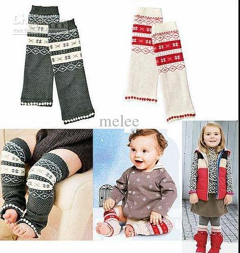 Детские Рождественские гетры со снежинками; детские леггинсы; колготки; гетры для маленьких мальчиков; Милые гетры; 10 пар/лот