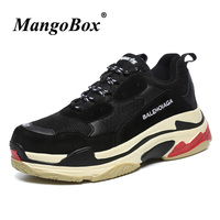 Super Cool Luxury Brand Designer Men Shoes Thick Soled Running Shoe For Couples Trend Big Size Youth Jogging Sneakers Women Shoe