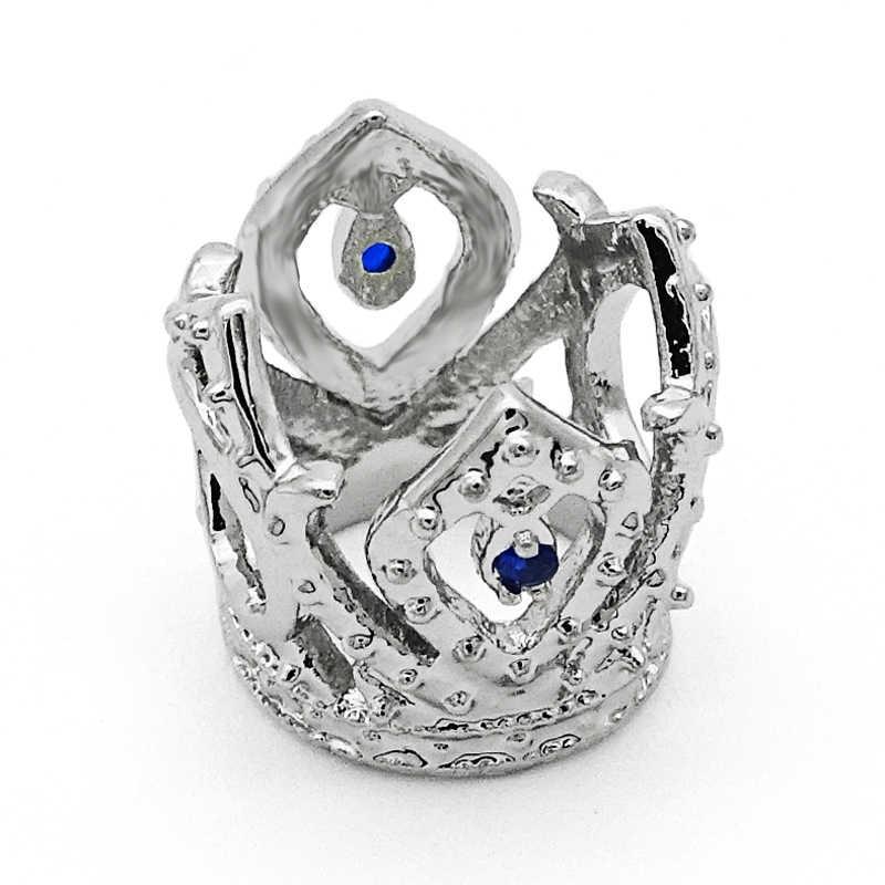 Frete Grátis 1 PC Prata Rosa Esmalte Cupcake Encantos fit Europeu Pandora Charm Bracelets & Bangles