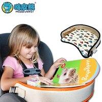 Детский портативный стол для автомобиля, держатель для коляски, стол для еды, водонепроницаемый, новый детский стол, подлокотник для сидени...