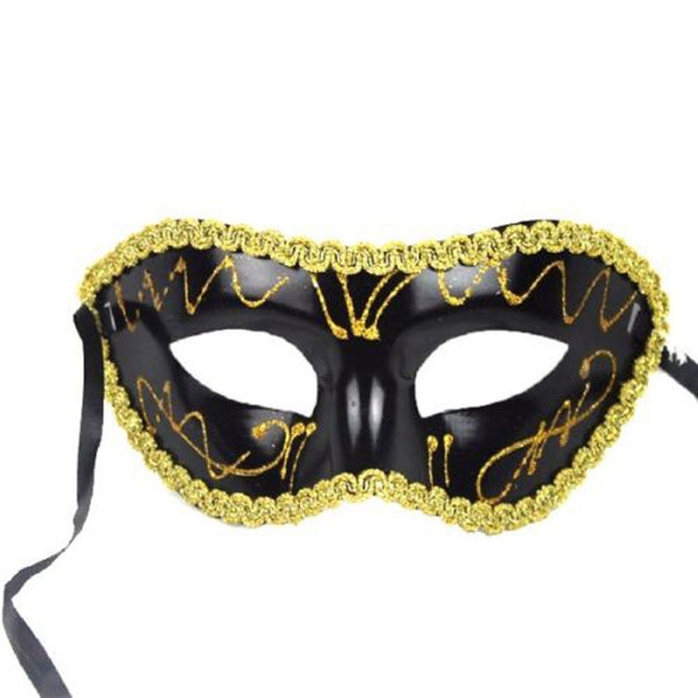 Half Face Colorful Lace Mask
