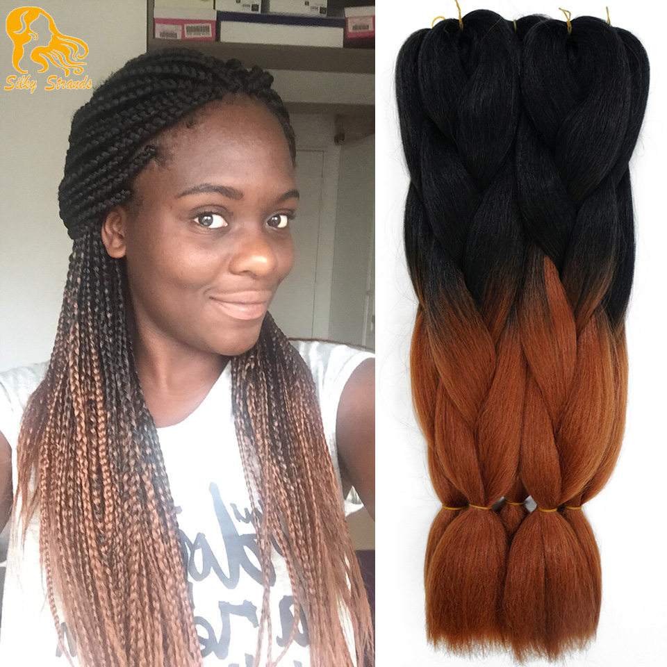 Online Buy Wholesale Brown Blonde Ombre Box Braids From