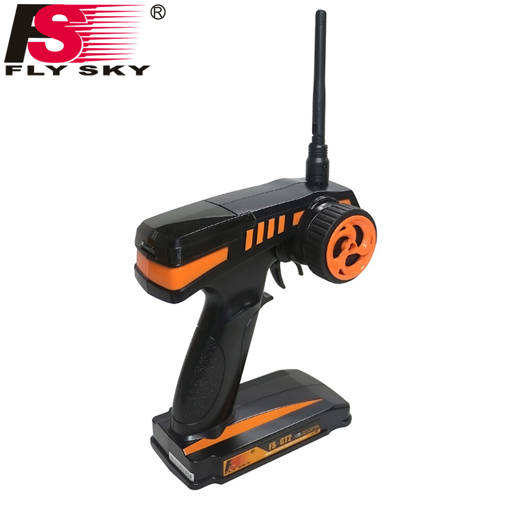все цены на Flysky FS RC remote control 2.4G FS-GT2 2CH Radio Model RC Transmitter & FS-GR3E Receiver For Rc Car Boat Model GT2