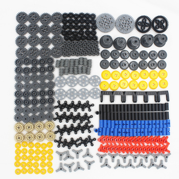 Self-Locking Brick Building Block MOC Technic parts 450pcs Technic Gears compatible with lego for kids boys toy