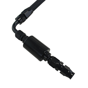 Image 5 - Wlr ブラック押し込め燃料ライン継手キット インラインフィルターホンダシビックインテグラb/dシリーズAN6 フィルターeg ek DC2 crx ef