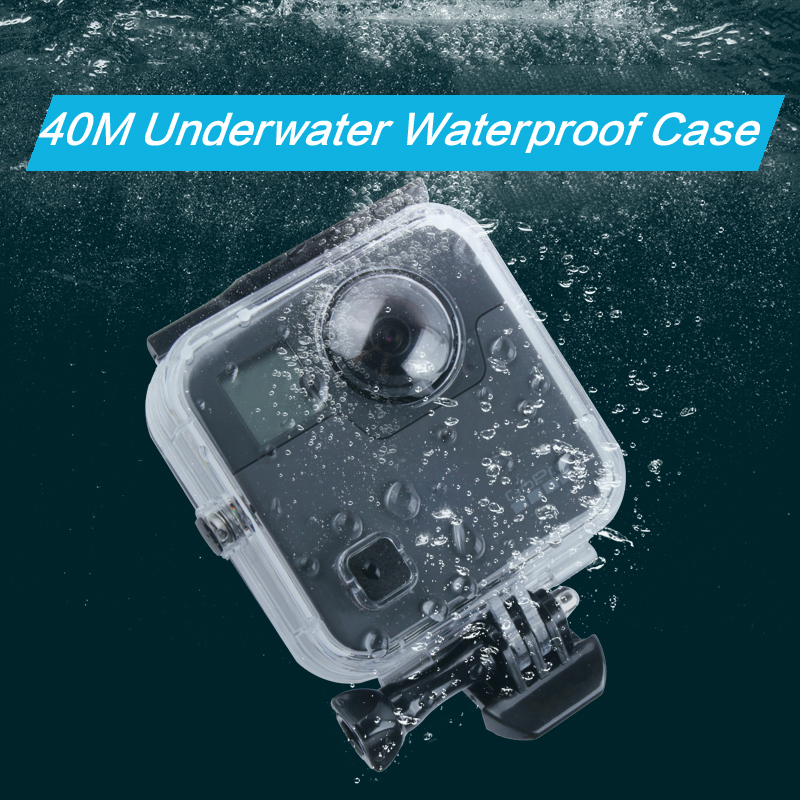 40M Waterproof Housing Case Back Door For Gopro Fusion 360 Camera Underwater Box For Go Pro Fusion Action Camera Accessories