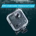 40 M Wasserdichte Gehäuse Fall Zurück Tür Für Gopro Fusion 360 Kamera Unterwasser Box Für Go Pro Fusion Action Kamera zubehör-in Sportcamcorder-Hüllen aus Verbraucherelektronik bei