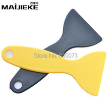 MAIJIEKE 10PCS Plastic LCD Glue Remover Scraper Squeegee Long Handle for iPhone 7 6 6s LCD screen glue removing Hand tools Wiper