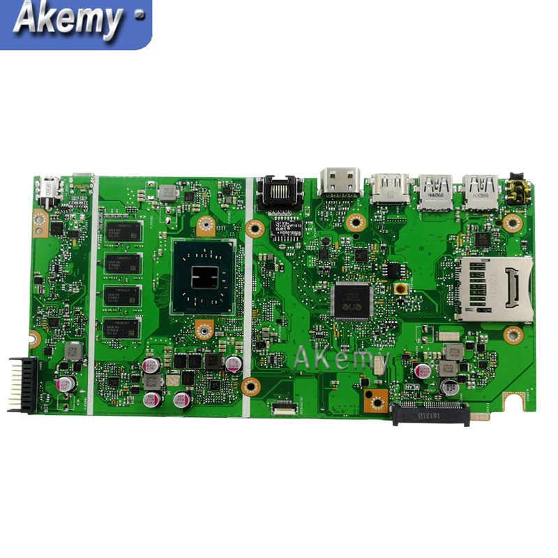 X541NA اللوحة الأم ل ASUS X541NA اللوحة المحمول X541NA اللوحة X541N اللوحة اختبار 100% موافق N3350 CPU 4GB RAM
