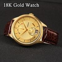 Berny Men Watch 18K Gold Business Luxury Quartz Watches Relogio masculino Montre Erkek reloj hombre kol saat Swiss MOVEMENT