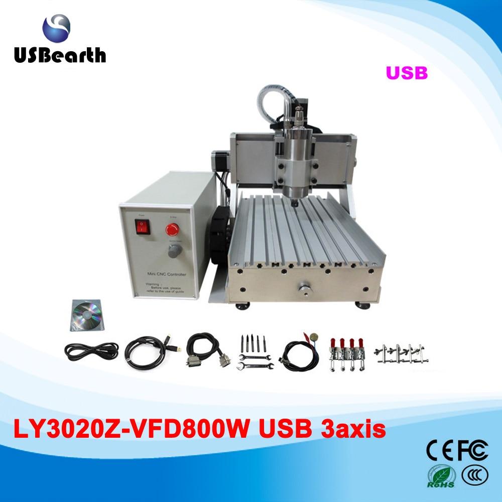mini desktop cnc router  engraving machine cnc 2030 800w with usb prort  цены