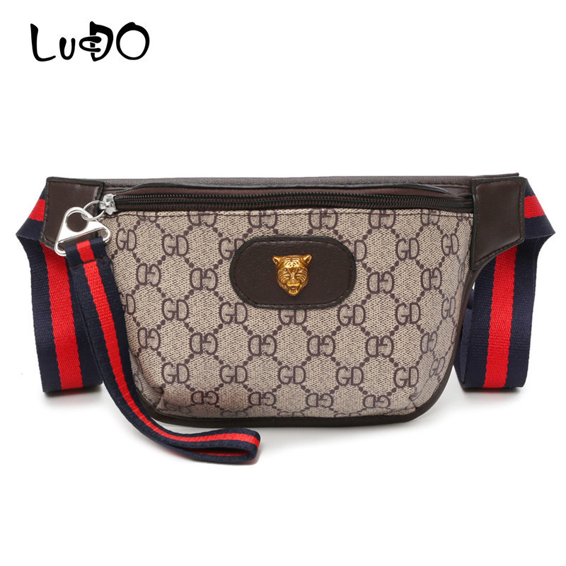 LUCDO Bag Belt Women PU Leather Bum Bag Shoulder Bags Fanny Pack Letters Printed Zipper Crossbody Handbag Pouch Waist Bag Packs stadler form inner pot 5l чаша для мультиварки sfc 919