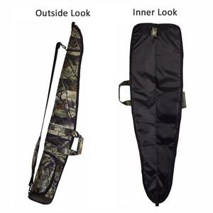 Image 3 - Sac à fusils tactique Oxford 600D, tissu Camo, étui pour pistolets de chasse de 130cm, bandoulière, Holster caché, pochette daccessoires