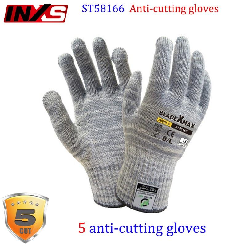 купить SAFETY-INXS ST58166 high risk Anti-cutting gloves Level 5 cut Tear resistant anti cut gloves Risk operation safety glove по цене 1018.45 рублей