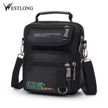 766b18489645 New 3707W Men Messenger Bags Casual Multifunction Small Travel Bags  Waterproof Leisure Shoulder Fashion Military Crossbody. 2 Colors Available