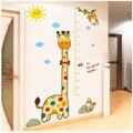 1 компл. жираф Высота наклейки kawaii пухлые мультфильм Сборка наклейки старинные ноутбук записки когнитивно-Стены стикеры