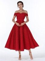 Red Christmas Dress 2017 Spring Winter Women Rockabilly 50s 60s Retro Elegant Audrey Hepburn Vintage Off