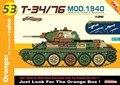 DRAGON 9153 1/35 T-34/76 MOD.1940 Tank w/Soviet Gen 2 Weapons, CyberHobby kit