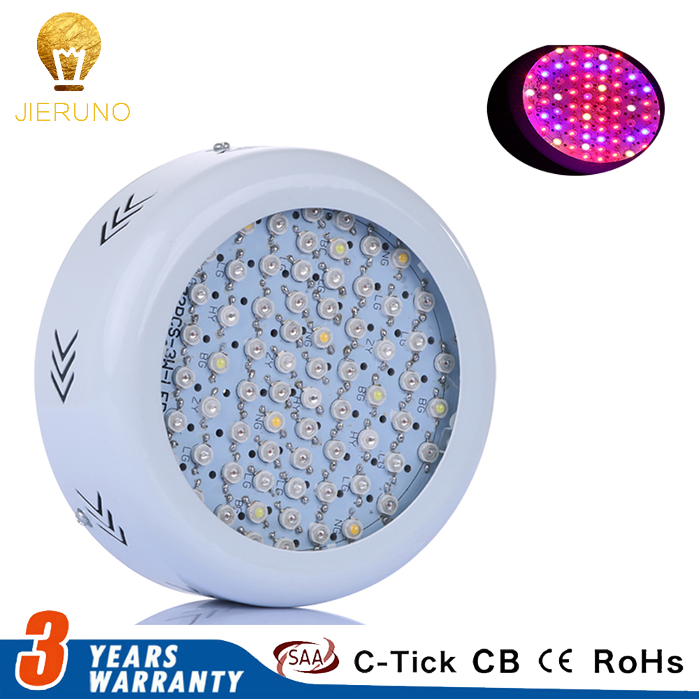UFO 216W LED Grow Light 72x3W Full Spectrum AC85~265V Hydroponics LED Plant Lamp Ideal All Phases of Plant Growth and Flowering 216w ufo led grow light 72x3w full spectrum ac85 265v hydroponics plant lamp ideal all phases of plant growth and flowering bj