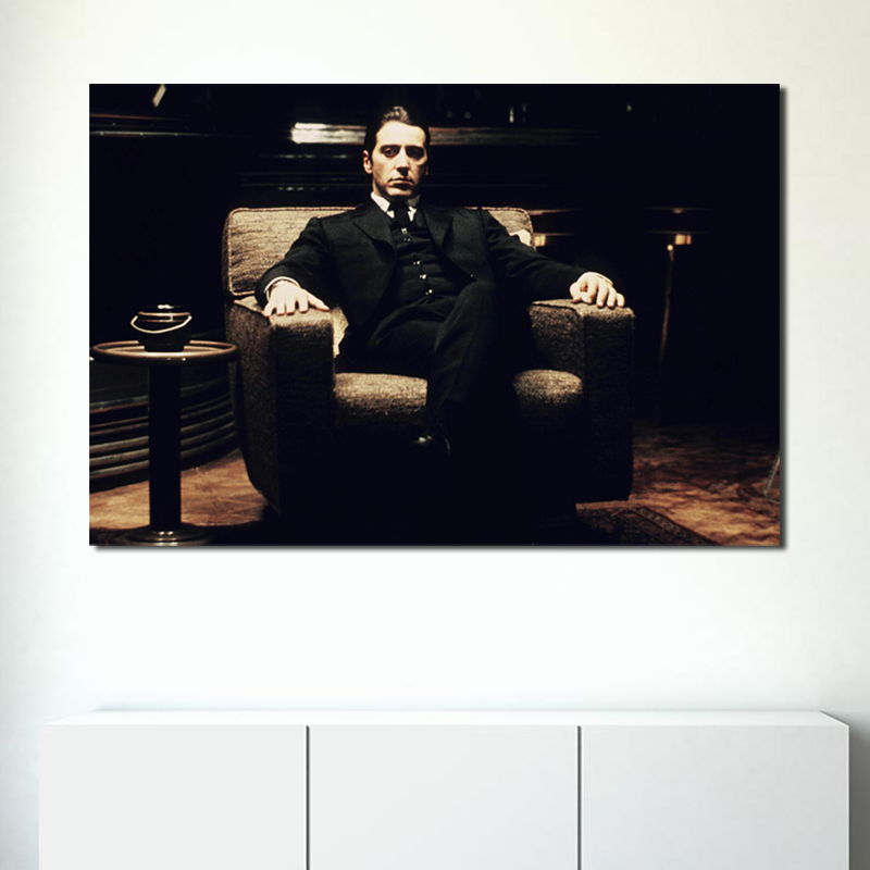 Classic Gangster Movie Wall Art Canvas Posters Prints Painting Oil Wall Pictures Kitchen Bedroom Modern Home Decor Accessories image